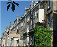 ST7565 : Rear of 21-40 Great Pulteney Street, Bath by Stephen Richards