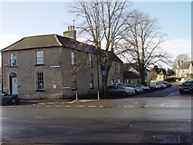 SU2199 : Junction of Burford Street and Sherborne Street in Lechlade by Paul Best