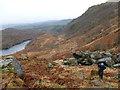 NN4807 : Climbing to Bealach nam Bo by Alan O'Dowd