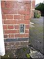 SO7193 : OS Flush Bracket S6050 - Bridgnorth Endowed School by Richard Law