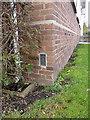 SO7093 : OS Flush Bracket G2200, former Bridgnorth council offices by Richard Law