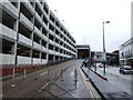 TQ7567 : Entrance to the Pentagon Centre Bus Station, Chatham by Chris Whippet