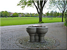 TQ2574 : King George's Park, Wandsworth by Robin Webster