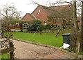 SK6325 : Garden off Church Lane by Alan Murray-Rust