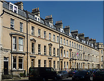 ST7565 : 1-10 Edward Street, Bath by Stephen Richards