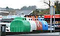 J4173 : Recycling bins, Dundonald by Albert Bridge