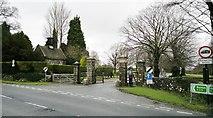 SK1751 : Tissington Gates by Chris Morgan
