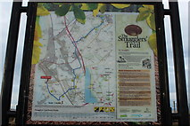 NS3229 : Map of The Smugglers' Trail by Billy McCrorie
