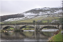 SE0361 : The river  Wharfe at Burnsall by David Grice