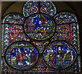 TR1557 : St Dunstan Window (Nt.XI), Canterbury Cathedral by Julian P Guffogg