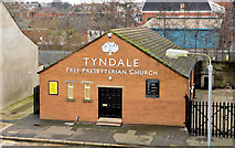 J3272 : Tyndale Free Presbyterian church, Belfast by Albert Bridge