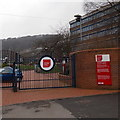 ST0888 : An entrance to  the University of South Wales Treforest Campus  by Jaggery