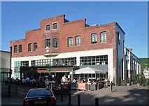 ST7565 : Former Bath Electric Tramways Depot, Walcot Street, Bath by Stephen Richards