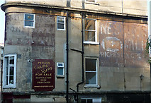 ST7565 : Ghost sign, London Road, Bath by Stephen Richards
