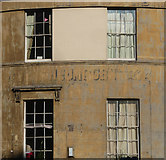 ST7565 : Ghost sign, Cleveland Place East, Bath by Stephen Richards