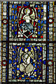 SK9771 : Detail window n27, Lincoln Cathedral by J.Hannan-Briggs