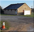 ST8993 : Preston Park pavilion, Tetbury by Jaggery