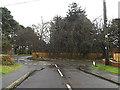 TM2648 : Brairwood Road, Woodbridge by Adrian Cable