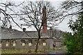 NT0370 : Boiler house, Bangour Hospital by Jim Barton