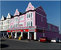 ST1166 : Fun Harbour and Harbour Snooker Centre, Barry Island by Jaggery