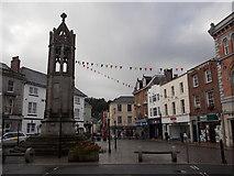 SX3384 : Launceston: Town Square by Chris Downer