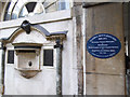 TQ3280 : Blue plaque for Wittgenstein at Guy's by Stephen Craven