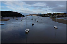 SH7877 : The River Conwy, from Conwy Bridge by Ian S