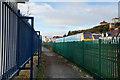 SH7879 : The North Wales Coastal Path towards Deganwy by Ian S