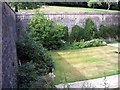SX8664 : Inner Curtain Walls and Lawn of Compton Castle by Jeff Buck
