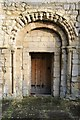 SO8418 : Norman arch by Philip Halling