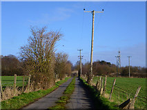 SU8790 : Road away from Hard to Find Farm by Robin Webster