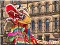 SJ8398 : Dragon Parade, Year of the Horse by David Dixon