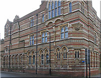 SP5074 : Rugby - New Quad building of Rugby School by Dave Bevis