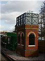 TQ3838 : Water Tower at East Grinstead by Peter Trimming