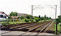 SK6298 : Site of former Rossington station, East Coast Main Line 1992 by Ben Brooksbank