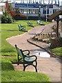 SX9676 : Seats, Dawlish by Derek Harper