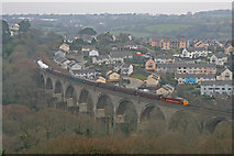 SW7834 : Viaduct at Penryn by Wayland Smith