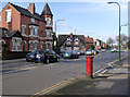 SK5539 : Lenton Boulevard/Arthur Avenue postbox ref NG7 86 by Alan Murray-Rust