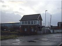 NZ5120 : Signal box, Marsh Road Level Crossing by JThomas