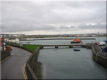C8540 : Portrush Harbour by Willie Duffin
