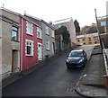 ST0597 : Up George Terrace in Penrhiwceiber by Jaggery