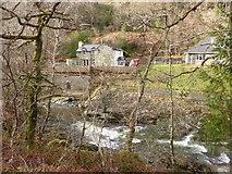 SH7326 : Ferndale, seen across the Afon Mawddach by David Medcalf