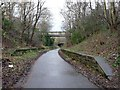 NT2274 : Southern end of the former Craigleith Station by Christine Johnstone