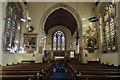 TQ6852 : Interior, St Mary's church, Nettlestead by Julian P Guffogg