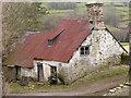 SO0752 : Deserted farmhouse north of Aberedw Hill by Trevor Littlewood