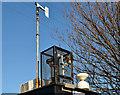 J3979 : Air-quality monitoring station, Holywood (2) by Albert Bridge