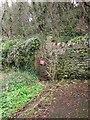 SX9156 : Closed footpath, Fishcombe Cove by Derek Harper