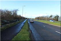 NS3526 : A79 Monkton Road near Prestwick by Billy McCrorie
