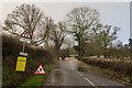 TQ2348 : Flanchford Road in flood by Ian Capper
