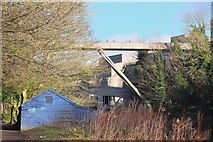 NZ2742 : Kingsgate footbridge over the River Wear, Durham by Jim Barton